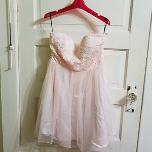 Pink party dress Forever 21 size large